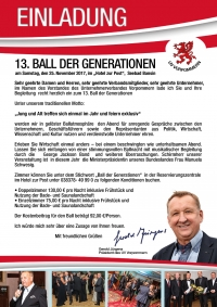 13. Ball der Generationen